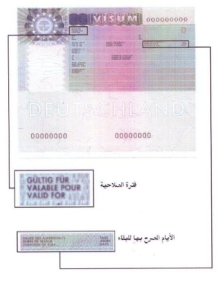 تنبيهات هامة عن تأشيرات ( شنغن )