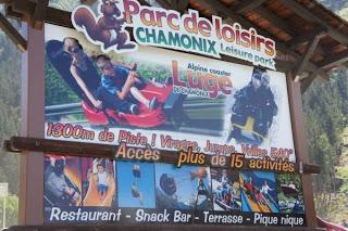 الزحليقة الصيفية في شامونيه الفرنسية