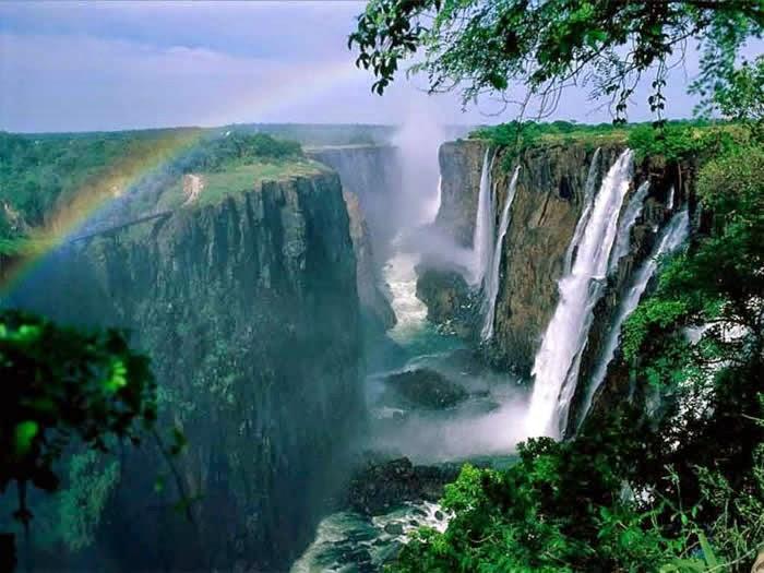 صور شلالات فيكتوريا Victoria Waterfalls 2015