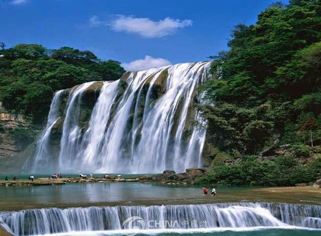 السياحة فى الصين 2015 , شلالات هوانغوشو Huangguoshu Waterfalls