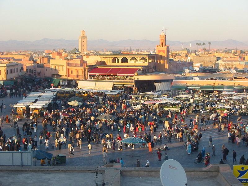 السياحة فى مراكش الحمراء 2015