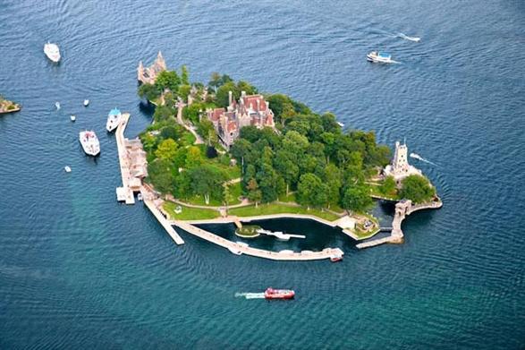 زيارة الى قصر بولدت التاريخي في نهر سانت لورنس في نيويورك 2015