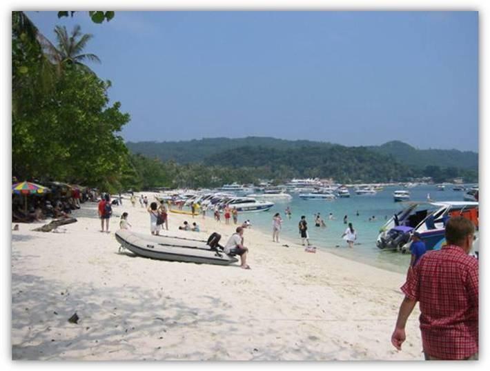 رحلة الى جزيرة فاي فاي بتايلند و سحر الطبيعة ..!!