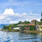 السياحة في بحيرة توبا البركانية فى اندونيسيا 2015