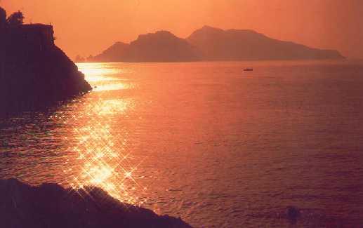 رحلة الى جزيرة كابري capri الايطالية 2015