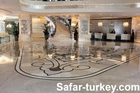 فنادق تصنيف خمس نجوم في منطقة تقسيم التركية