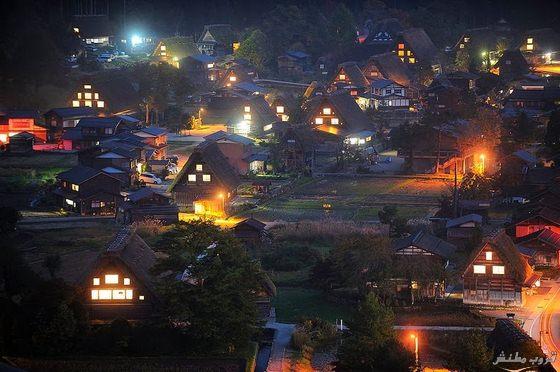 صور القرية التاريخية شيراكاوا جو ( السياحة فى اليابان 2015)