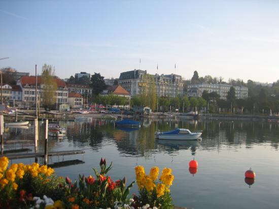 صور السياحة في مدينة لوزان السويسريه