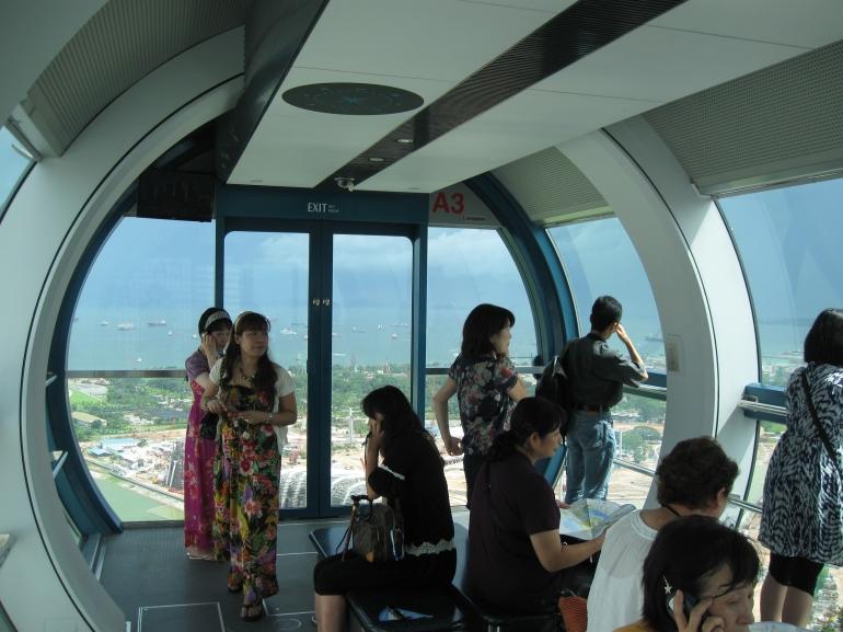رحلة الى سنغافورة ... أرض الجمال و الالتزام