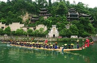 مدينة تشن يوان واحدة من أروع مناطق الجذب السياحي في الصين