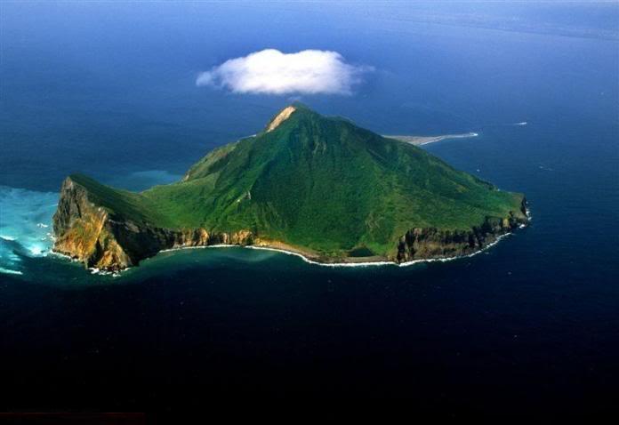 جزيرة في تايلند على شكل سلحفاة