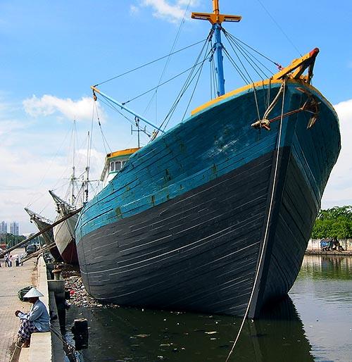 صور منطقة ميناء سوندا كلابا SundaKelapa ( السياحة فى جاكرتا )