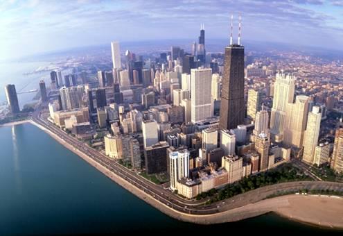 السياحة فى مدينة شيكاغو الرائعة