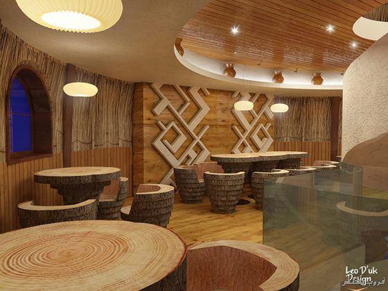 صور فندق ايكو الخشبى فى أوكرانيا