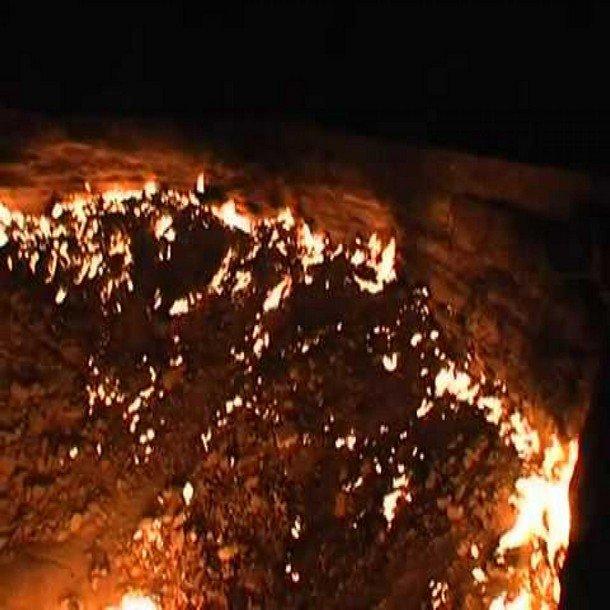 صور بوابة جهنم - تركمانستان