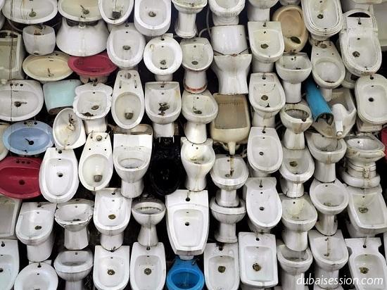 صور سورا مذهلا من المراحيض يصل طوله إلى 100 متر ( معالم الصين )