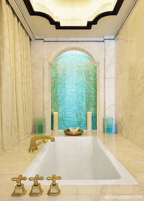 صور أول جناح فندقي معلق في العالم .. في أبوظبي ( فنادق ابو ظبى )