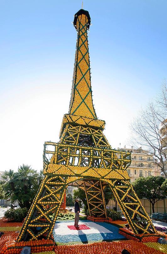 زيارة فرنسا خلال مهرجان الليمون السنوي
