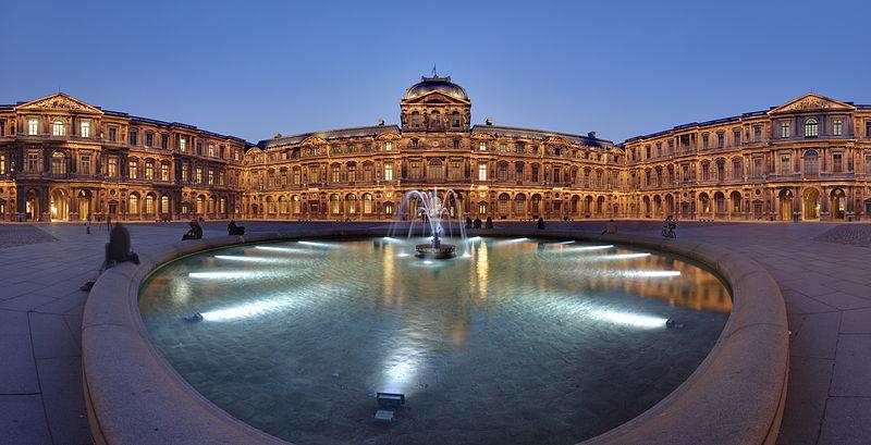 تقرير عن متحف اللوفر فرنسا باريس