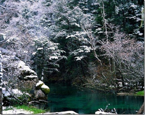 جمال وروعة وادي جيوتشايقو - الصين