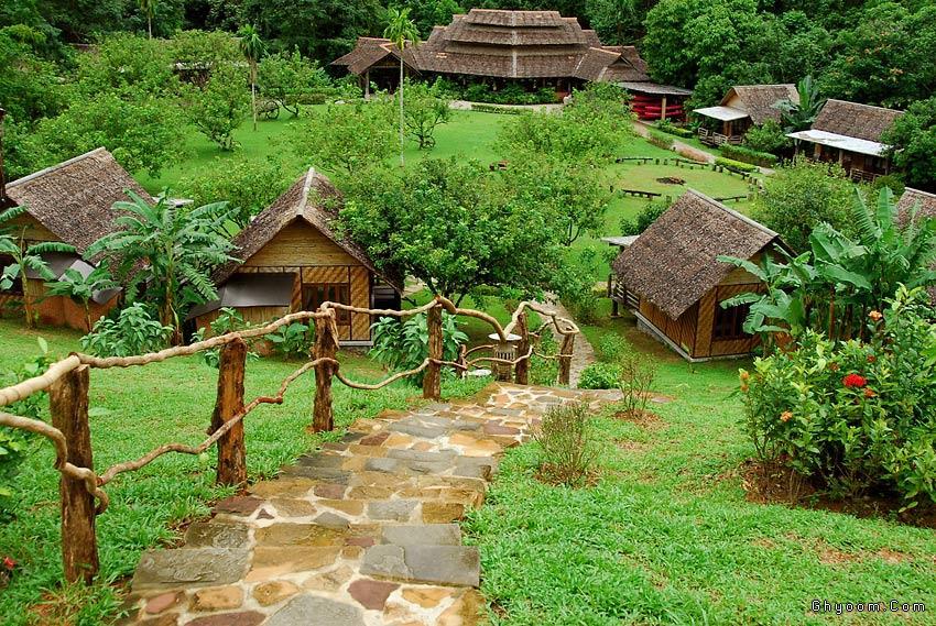 جزيرة الجبل الاخضر في اندونيسيا