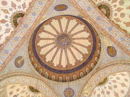 صور جامع السلطان أحمد أو الجامع الأزرق مساجد تركيا