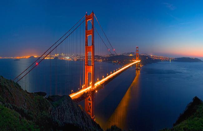 جسر كاليفورنيا الساحر