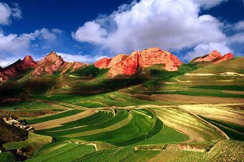 صور مقاطعة Danxia في الصين من اجمل مناطق الصين