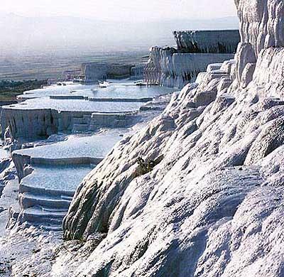 اجمل الاماكن التركية 2015 , قلعة القطن من اجمل الاماكن فى تركيا 2015