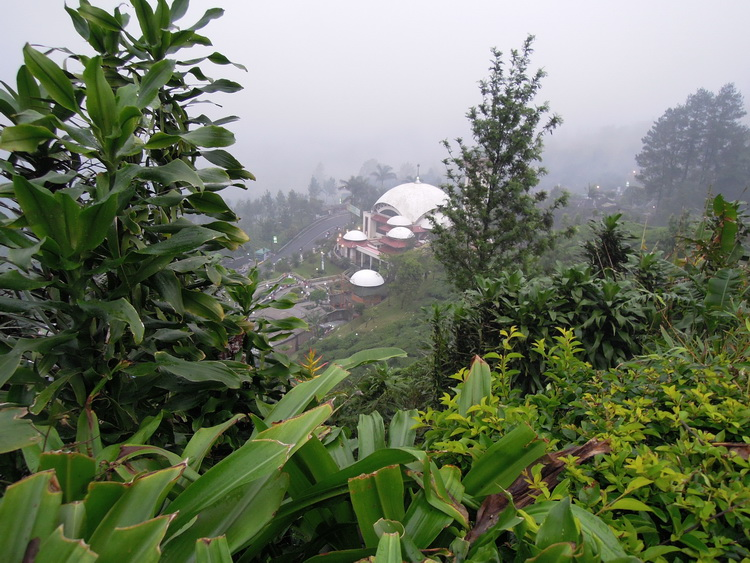 جبل بونشاك بالصور ، جبل بونشاك فى اندونيسيا