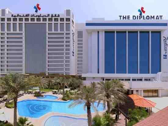 فندق الدبلومات راديسون بلو ريزيدانس آند سبا في البحرين