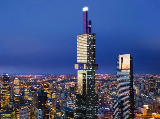 إطلاق مشروع أطول برج في ملبورن