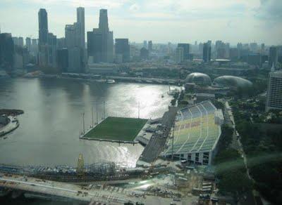 صورالملعب العائم بسنغافورة