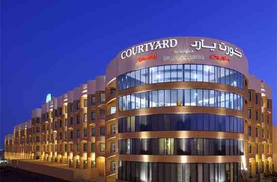 """فندق """"كورت يارد ماريوت الحي الدبلوماسي"""" في الرياض"""