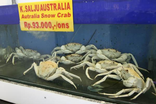 من مطاعم جاكرتا ( ah yat seafood)