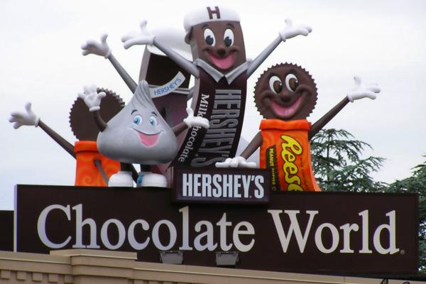 عالم هيرشي للشيكولاته: أحلى مكان في العالم!