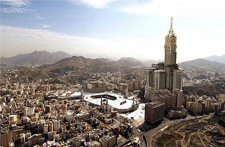 تقرير مصور عن ساعة مكة المكرمة