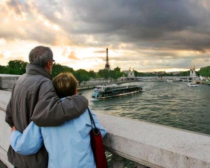 شهر العسل فى باريس