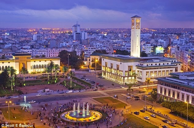 جولة مصورة الى أجمل مدن المغرب