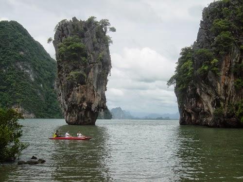 زيارة الى جزيرة جيمس بوند التايلانديه عن طريق ماليزيا
