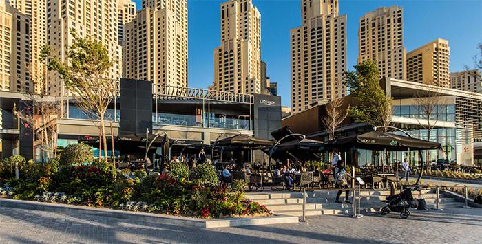 ارقى عشرة اماكن في الهواء الطلق في دبي بالصور