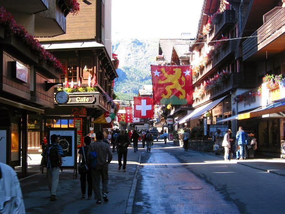 صور أجمل قرى سويسرا زيرمات ( السياحة فى سويسرا 2015)