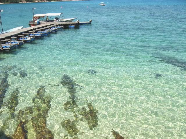 جزيرة كاباس أجمل جزر ماليزيا