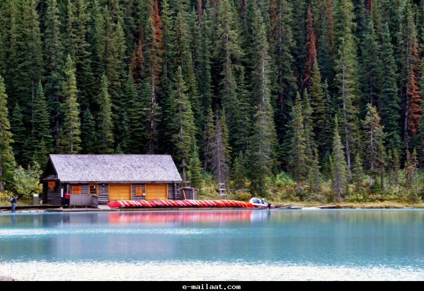 جولة سياحيه فى اجمل بحيرات كندا صور 2013