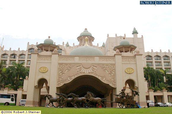 تقرير مصور عن فندق الخيول الذهبية ( سلانجور , ماليزيا)