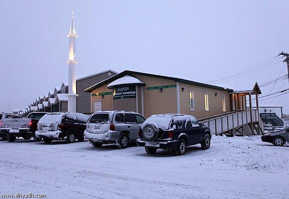 المساجد فى كندا 2014