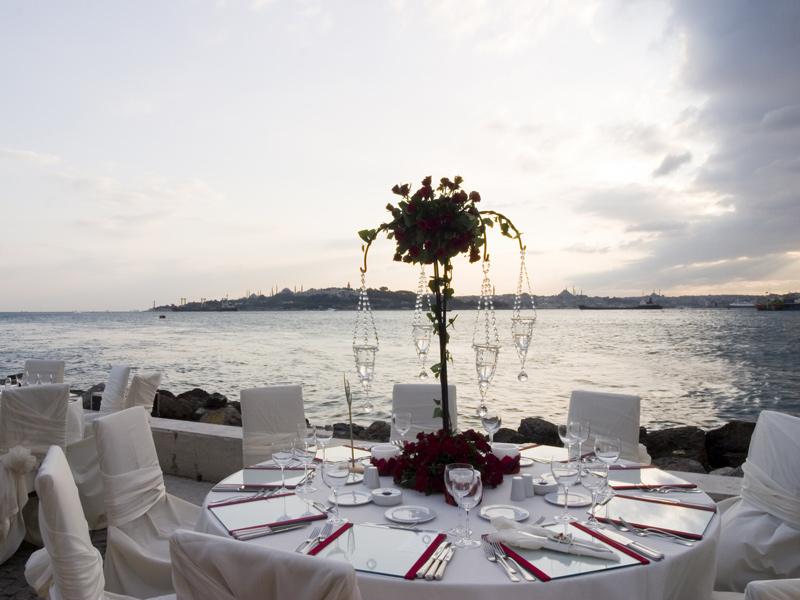 # مطعم برج البنات في تركيا # بالصور