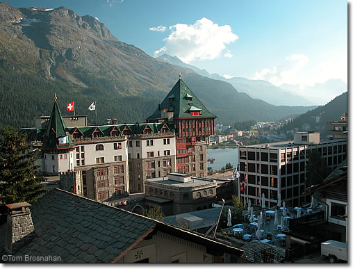 جولة سياحيه فى سانت موريتز مدينة سويسرية صور