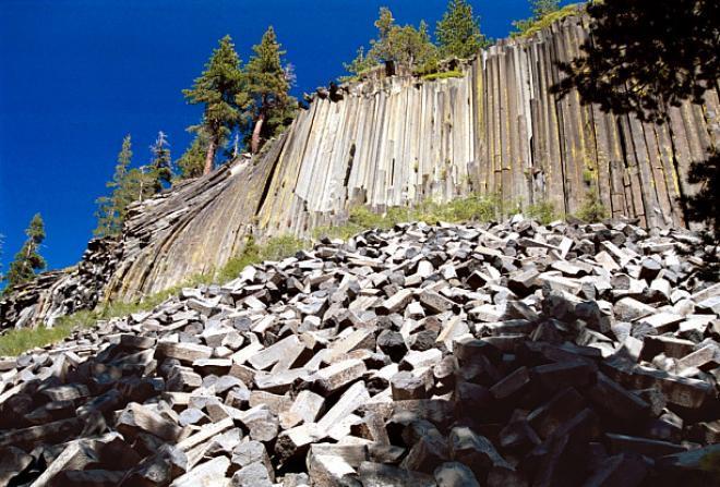 بوستبيل ديفل Devil's Postpile ( كاليفورنيا امريكا ) صور 2013