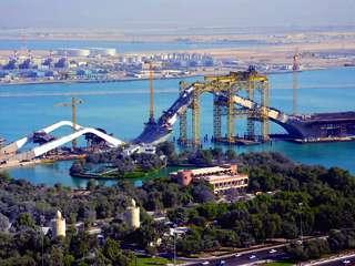 تقرير مصور عن جسر الشيخ زايد ( الامارات )